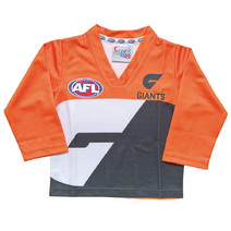 GWS Giants Replica Toddler L/S Guernsey