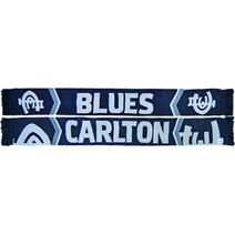 Carlton Blues Cleave Jacquard Scarf