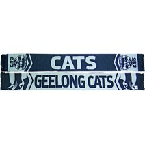Geelong Cats Cleave Jacquard Scarf
