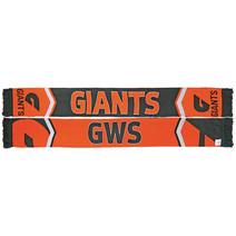 GWS Giants Cleave Jacquard Scarf