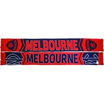 Melbourne Demons Cleave Jacquard Scarf