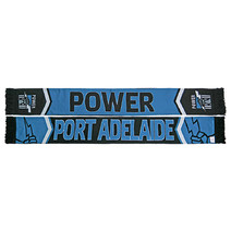 Port Adelaide Power Cleave Jacquard Scarf