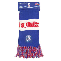 Western Bulldogs Bar Scarf