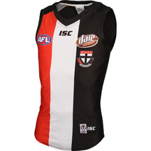 AFL Mens St Kilda Saints Home Guernsey Adult T-Shirt