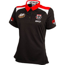 AFL Ladies St Kilda Saints Official Media Polo
