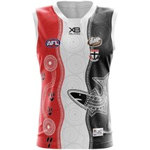 St Kilda Saints 2019 X-Blade Youth Indigenous Guernsey