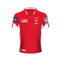 AFL-Swans Kids Players Polo
