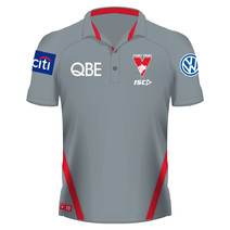 Sydney Swans 2019 AFL Mens Preformance Polo