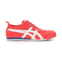 Asics Onitsuka Tiger Mexico 66 Slip On Casual Shoes Mens - Hot Coral/White