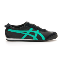 Asics Onitsuka Tiger Mexico 66 Casual Shoes Mens - Black/Mint Leaf