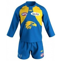 West Coast Eagles Toddlers Home Guernsey Set