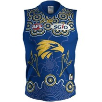 West Coast Eagles 2018 Indigenous Kids Guernsey