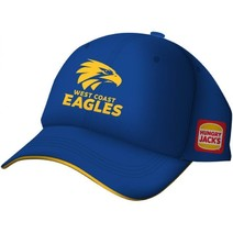 West Coast Eagles 2019 AFL Mens Media Cap