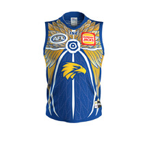 West Coast Eagles 2019 ISC Mens Indigenous Guernsey