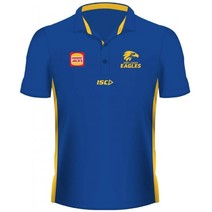 West Coast Eagles 2019 AFL Kids Media Polo