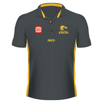 West Coast Eagles 2019 AFL Mens Media Polo