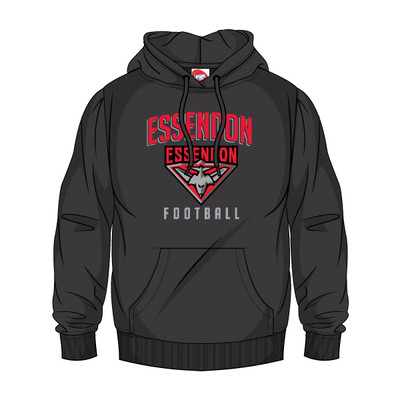 AFL SHD Youth Supporter Hood Essendon Bombers