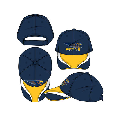West Coast Eagles SHD Mens Premium Cap