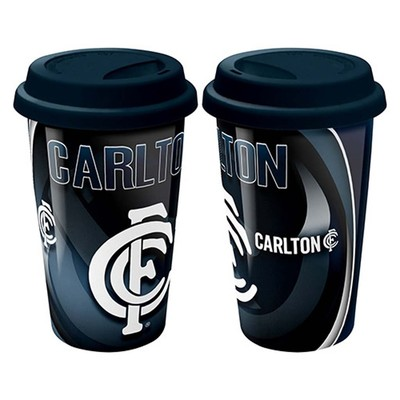 Ceramic Travel Mug Carlton Blues
