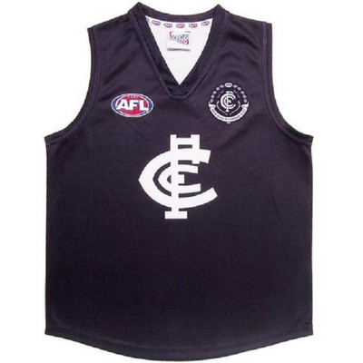 Carlton Blues Official AFL Adults Home Guernsey(Size:S)