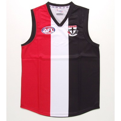 St Kilda Saints Official AFL Replica Adults Home Guernsey
