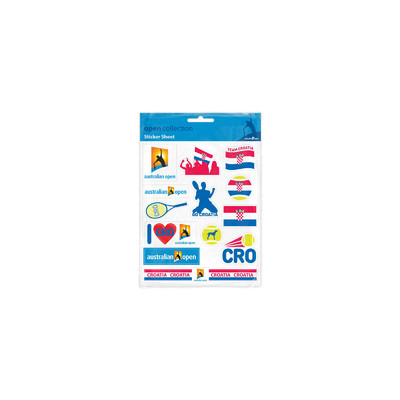 Australian Open Stickers - Croatia