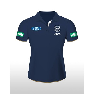 Geelong Cats 2016 Ladies Media Polo [Size:8]