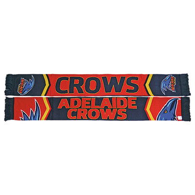 Adelaide Crows Cleave Jacquard Scarf