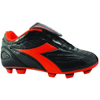Diadora VENOM JUNIOR Football Boot(Colour:Black/Pink,Size:6 US)