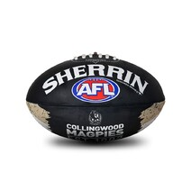 Sherrin AFL  All Surface Synthetic Song Size 2 - Collingwood