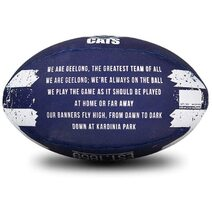 Sherrin AFL  All Surface Synthetic Song Size 2 - Geelong