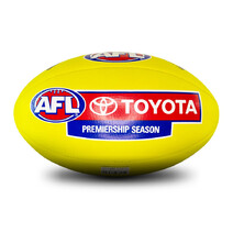 AFL Replica Training Ball - Yellow - Size 5