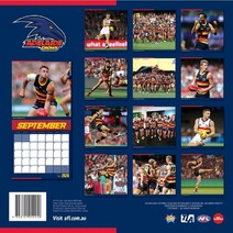 Adelaide Crows 2020 AFL Calendar