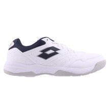 LOTTO Mens Court Logo XVIII | White/ Navy