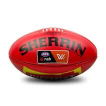 Official AFLW Game Ball - Red