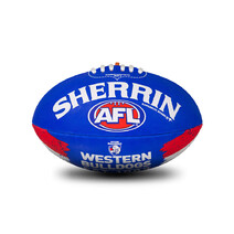 Sherrin AFL  All Surface Synthetic Song Size 2 - Bulldogs