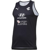 Carlton Blues 2020 Puma Mens Training Singlet