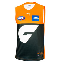 GWS Giants AFL Puma Youth Home Guernsey