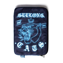 "Geelong Cat AFL TYPO 13"" Take Charge Laptop Cover"
