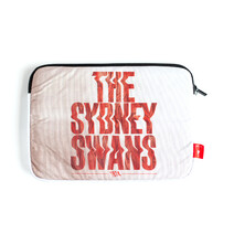 "Sydney Swans AFL TYPO 13"" Take Charge Laptop Cover"