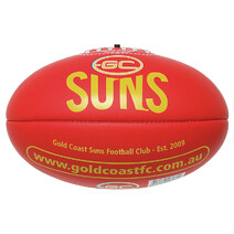 Gold Coast Suns AFL Soft Touch Football Size 1