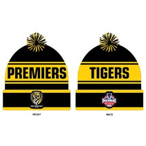 Richmond Tigers 2020 Premiers Premiership Beanie