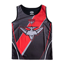 Essendon Bombers  SHD Youth Training Singlet