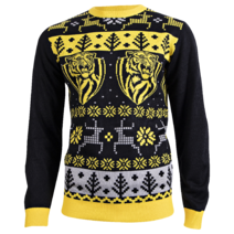 Mens Ugly Christmas Sweater Richmond Tigers