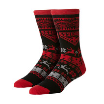 AFL Youth Ugly Xmas Socks Essendon Bombers