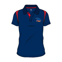 Adelaide Crows AFL SHD Mens Embroided Polo