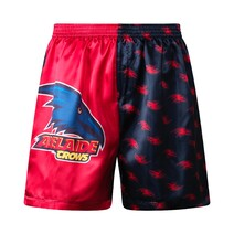 Adelaide Crows Mens Satin Boxer Short