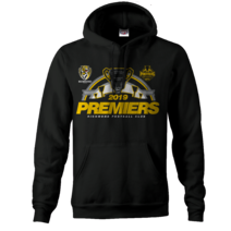 Richmond Tigers 2019 AFL Mens Premiers Hood P2 | BLACK