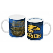 West Coast Eagles 11oz Team Song Mug