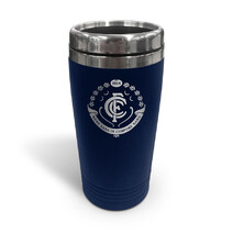 AFL S/Steel Travel Mug Carlton Blues